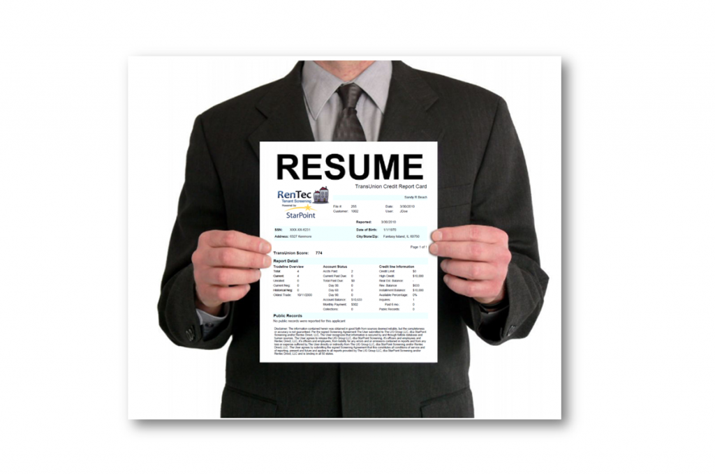 Credit Resume Post Picture1 1024x681 What Does Your Credit Resume Say About You?