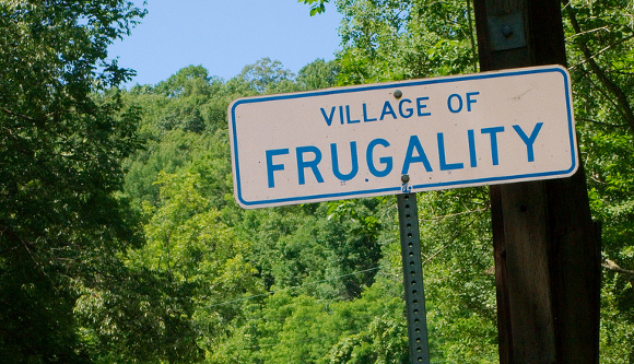 frugalityVillage1 Forced into frugality and loving it!