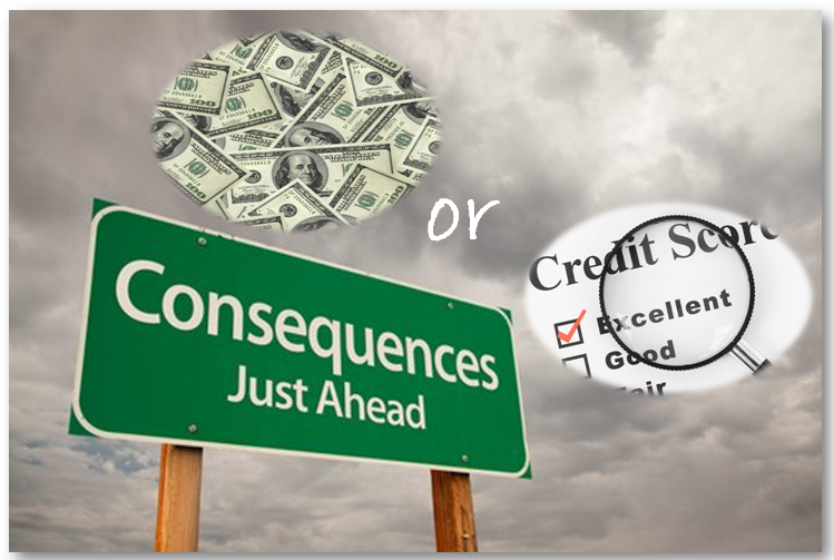 Cash or Credit What's More Important; Having Cash or Saving Your Credit?