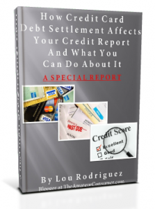Credit Card Debt Settlement eBook Cover2 223x300 Why Having Good Credit Means Less Than Making Good Money
