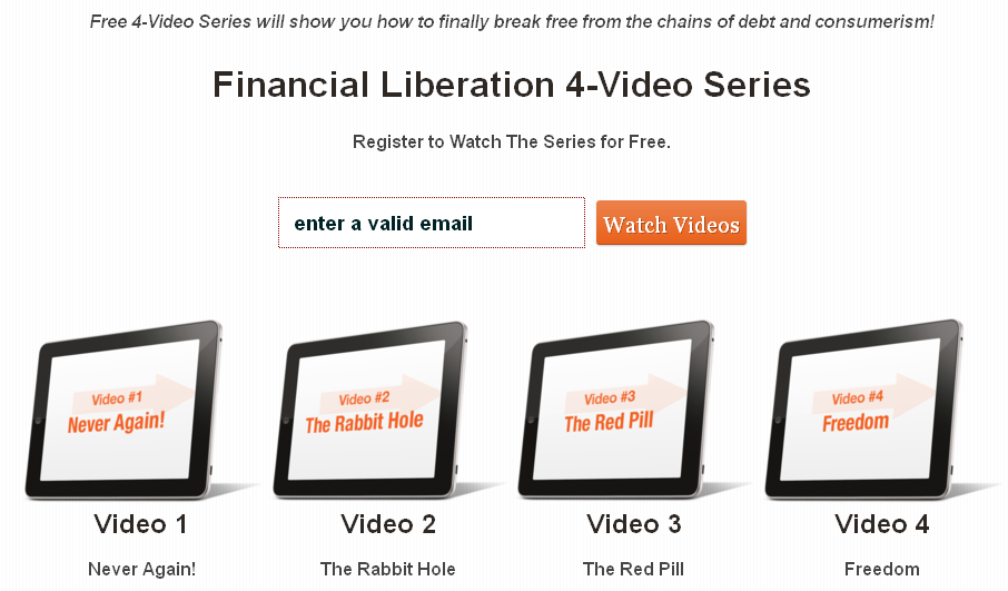 Liberation Video Series Image1 How Close Are You to Being Broke? Here's a Hint; You're Closer Than You Think!