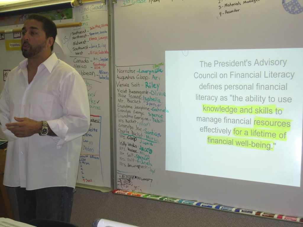 Teaching Lauryns Class 2 1024x767 10 things I learned from Financial Literacy Month 2013